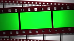 Film Strip Animation Effect Stock Footage