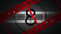 Film Strip Animation Effect - stock footage