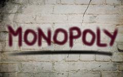 Monopoly Concept - stock illustration