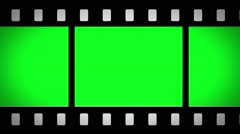 Film Strip Animation Effect - Green Screen Stock Footage
