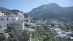 Stock Video Footage of Buildings on Island Capri Bay of Naples Italy - 29,97FPS NTSC