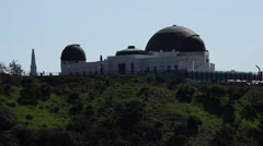Griffith Observatory, Los Angeles Stock Footage