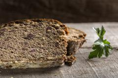 Cighir - Traditional Romanian baked roulade - stock photo