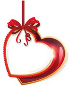 Valentine hearts Stock Illustration