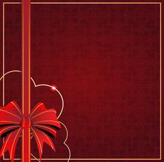 Valentines Day vintage card Stock Illustration