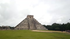 Chichén Itzá Mayan ruin Stock Footage