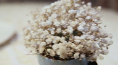 Sweet dessert of meringue Stock Footage