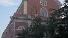 Chiesa di Sant'Apollinare Martire in Trieste Stock Footage