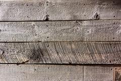 Rough Wood Wall Close Up - stock photo