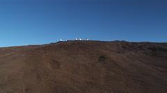 Past Mauna Loa Observatory, Hawaii. Shot in 2010. Stock Footage