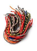 Colourful Para Cords - stock photo