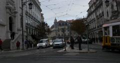 Bairro Alto, Lisbon, Portugal Stock Footage
