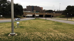 4K UltraHD Dealey Plaza in Dallas, site of JFK assassination Stock Footage