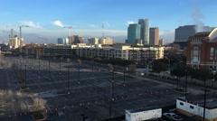 4K UltraHD Early morning scene in Dallas, Texas - stock footage