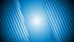 Dark blue tech striped video animation Stock Footage