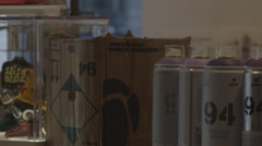 Graffiti Spray Can - stock footage