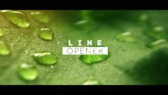 Elegant Line Opener Stock After Effects