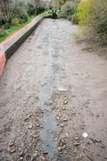 Waterless Canal - stock photo
