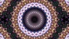 Vivid kaleidoscopic background Stock Footage