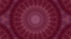 Pink kaleidoscopic background Stock Footage