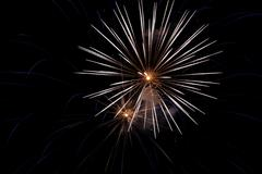 Fireworks New Years Eve - stock photo
