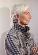 Managing Director of the International Monetary Fund, Christine Lagarde Stock Photos
