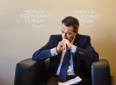 World Economic Forum in Davos (Switzerland) Stock Photos