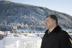 World Economic Forum in Davos (Switzerland) - stock photo
