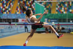 Stock Photo of Turkish Athletic Federation Olympic Threshold Indoor Competitions