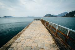 Pier at Repulse Bay, in Hong Kong, Hong Kong. Kuvituskuvat