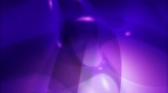 Background of purple balloon-like shapes Stock Footage