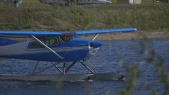 Fairbanks, Alaska, USA - JULY 2015. International Airport. - stock footage