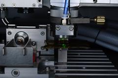 laser cutter - stock photo