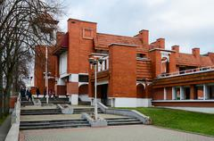 Kobrin Military and Historical Museum named after of Alexander Suvorov Stock Photos