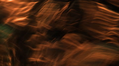 Rippling brown water-like background Stock Footage
