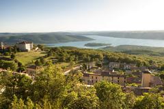 Aiguines (Verdon, France) - stock photo