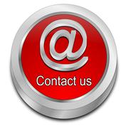 Button contact us Stock Illustration