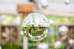 Silver disco mirror ball Kuvituskuvat