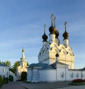 Holy Trinity convent, Murom, Russia - stock photo