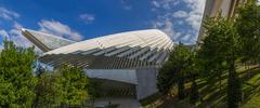 Conference and exhibition center Ciudad de Oviedo in Asturias - stock photo