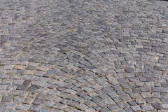 Patterned paving tiles Stock Photos