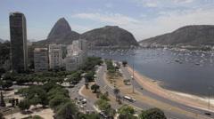 Sugar Loaf in Rio de Janeiro Stock Footage