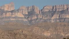 Chihuahuan Desert Scenery at Big Bend National Park American Southwest - stock footage