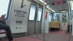 DC Metro - stock footage