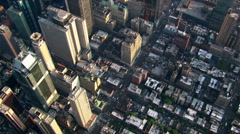 High flight over New York City. Shot in 2003. Stock Footage