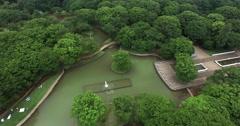 Tokyo Yoyogi park Aerial Footage - stock footage