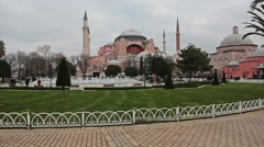Haghia Sophia Full Hd Backlot - stock footage