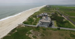 The Hamptons NY State Aerial Footage - stock footage