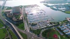 Atlantic City Aerial Footage - stock footage