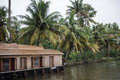 Coco Houseboats on Lake Stock Photos